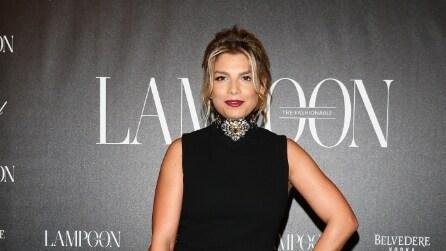 Emma Marrone look da diva alle sfilate milanesi