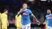 Europa League, le immagini di Napoli-Villarreal
