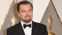 Leonardo DiCaprio alla notte degli Oscar 2016