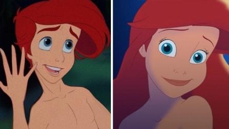 Le principesse Disney diventano uomini: ecco la trasformazione