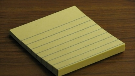Come evitare che un post-it si stacchi
