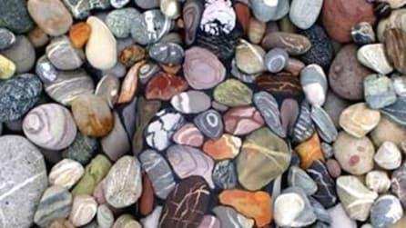 Le persone restano scioccate da ciò che si nasconde fra queste rocce. Riesci a vederlo?