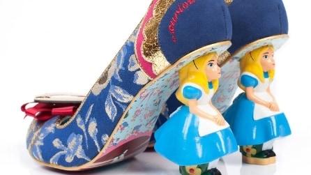 La favola di Alice si trasforma in scarpe: ecco le creazioni uniche