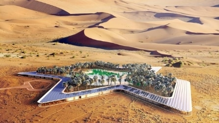 Sarà il resort di lusso più ecologico al mondo e non immaginerete mai dove sorgerà