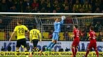 Bundesliga, Borussia Dortmund-Bayern Monaco 0-0