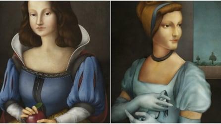 Come sarebbero le principesse della Disney durante il Rinascimento?