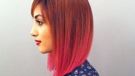Pink Copper Hair