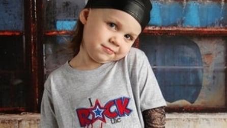 """La linea di t-shirt """"effetto tattoo"""" per bambini"""