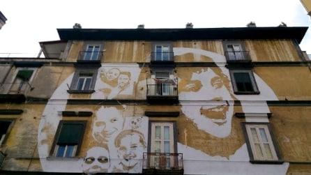 Street art a Napoli: ecco il nuovo murale del Rione Sanità