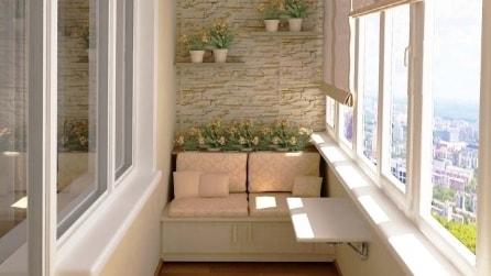Le idee creative per arredare un balcone