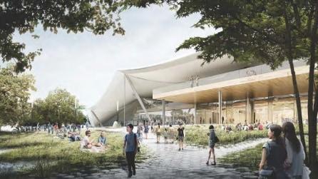 Google, ecco come sarà la nuova sede di Big G