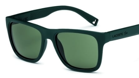 La collezione di occhiali galleggianti Lacoste
