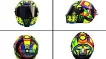 Valentino Rossi, il casco della stagione 2016