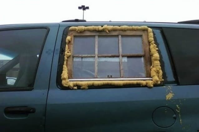 Infondo un finestrino di un'auto è solo uno dei tanti modelli di finestre che esistono sul mercato.