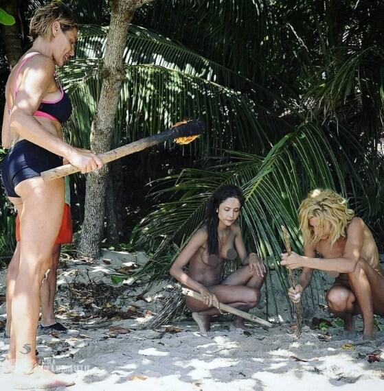 La Ventura e Malnati dovranno resistere per due giorni e due notti in compagnia dei desnudi Giacobbe, Patricia e Paola.