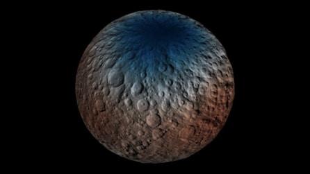 C'è acqua su Cerere, l'incredibile scoperta sul pianeta nano