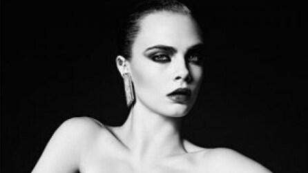 Cara Delevingne per Yves Saint Laurent: la modella è più sexy che mai
