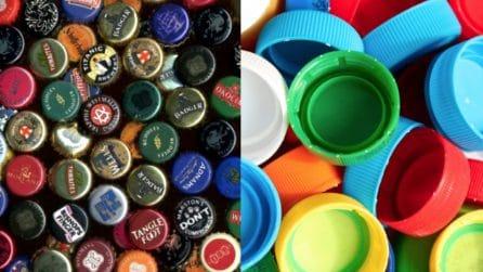 Non gettate i tappi delle bottiglie: 33 modi creativi per riciclarli