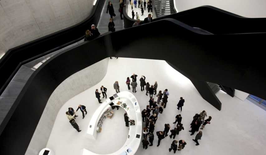 Maxxi museum of contemporary art and architecture in Rome November 13, 2009. REUTERS/Max Rossi/Files