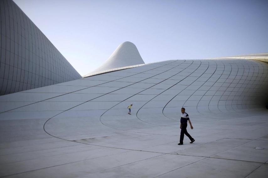 The Heydar Aliyev Center in Baku, Azerbaijan, June 11, 2015. REUTERS/Stoyan Nenov/Files