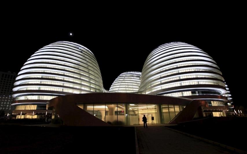 Galaxy Soho building, in Beijing October 27, 2012. REUTERS/Jason Lee/Files
