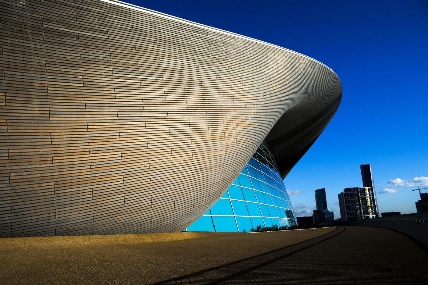 London Aquatics Centre for the 2012 Olympic Games Photo credit should read: John Walton/PA Wire