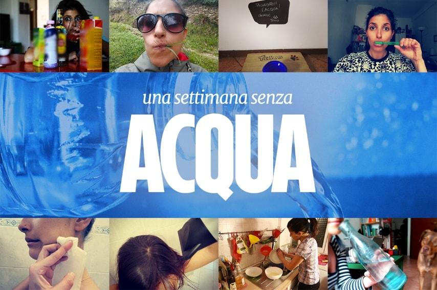 Cosa significa vivere una settimana senza acqua?