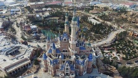 Disneyland Shanghai visto dall'alto: ecco le prime immagini del nuovo parco Disney