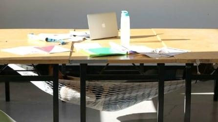 Schnap, l'amaca che trasforma qualsiasi tavolo in un comodo letto