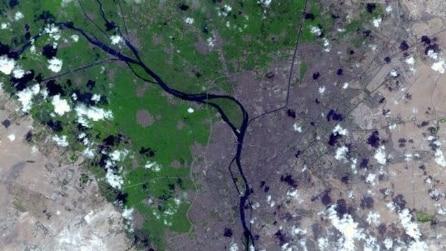 Così appaiono le nostre città viste dai satelliti