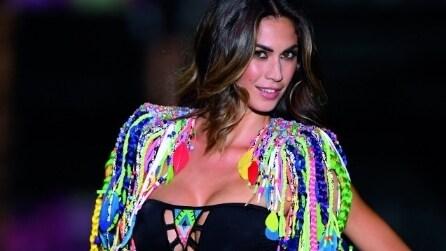 Melissa Satta in bikini per la nuova collezione Calzedonia