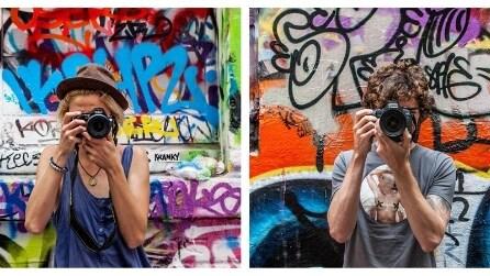"""""""Lens between us"""": le foto creative della coppia che viaggia per il mondo"""