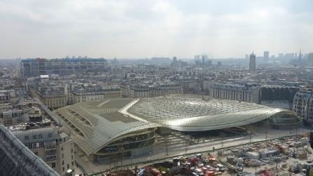 Parigi: ecco il nuovo Forum des Halles