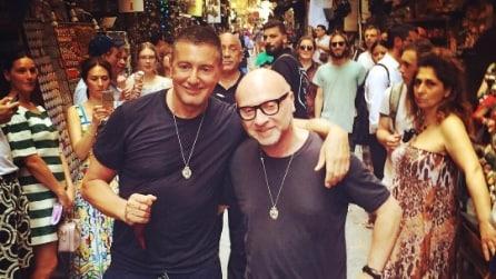 Dolce&Gabbana a Napoli per l'Alta Moda