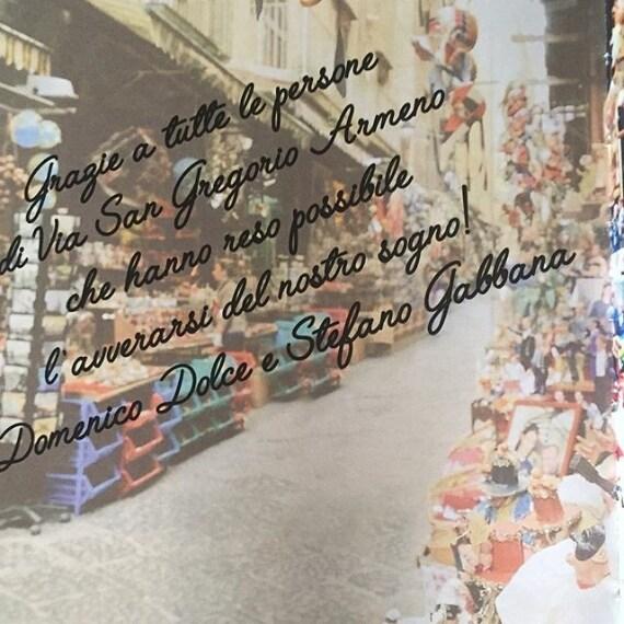 La dedica degli stilisti a Napoli