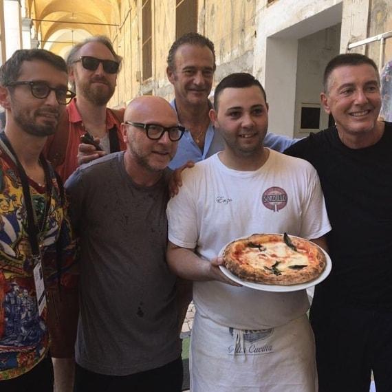 Una pizza al centro storico