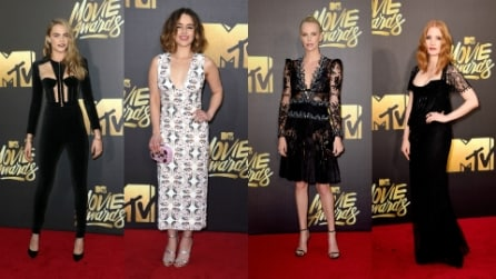 I look degli Mtv Movie Awards 2016: sul red carpet gara a colpi di scollature hot