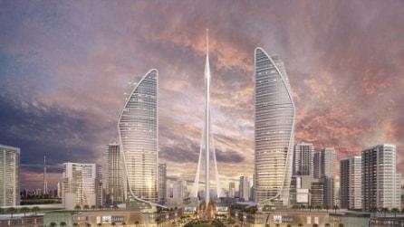 Ecco il nuovo grattacielo più alto del mondo: sorgerà a Dubai nel 2020