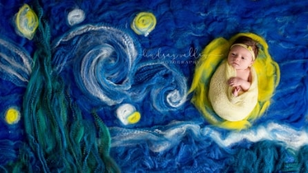 I bimbi diventano protagonisti delle più grandi opere d'arte
