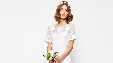 Gli abiti da sposa economici di Asos