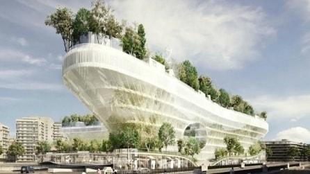 1000 Arbres: una vera e propria foresta nel cuore di Parigi