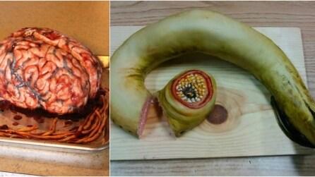 Sembrano reali ma non è così: le idee più macabre in cucina