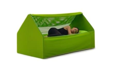 Ca.Mia, il letto da campeggio che entra in una borsa