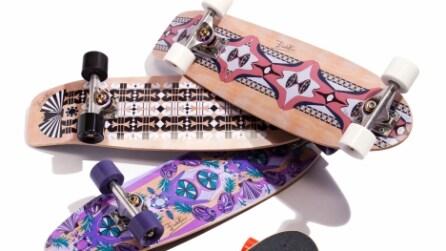 Gli skateboard firmati Emilio Pucci