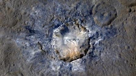 I crateri luminosi di Cerere: frane e crolli sul pianeta nano