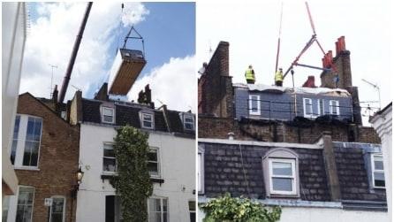 Aggiungono un piano alla propria casa senza fare lavori all'edificio: ecco come hanno fatto
