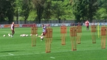 Totti-Spalletti, pace fatta: i due si allenano insieme