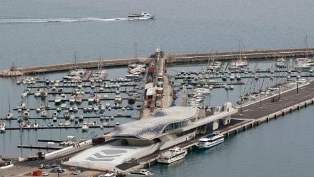 Salerno: dentro la nuova Stazione Marittima di Zaha Hadid