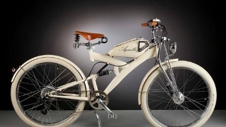 Agnelli Milano Bici: ecco le biciclette elettriche create con pezzi di moto anni Cinquanta
