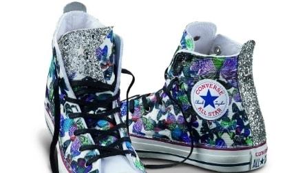 Glitter e pizzo: la nuova collezione di Converse per la Primavera/Estate 2016